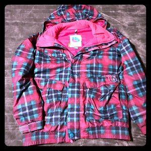 ⛄️super cute Burton girls snow jacket ❄️